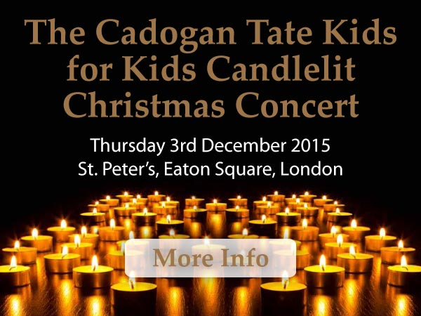 The Cadogan Tate Kids for Kids Candlelit Christmas Concert