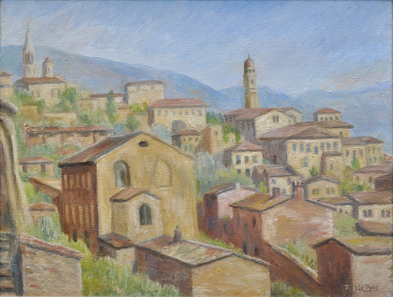 Looking over Assisi