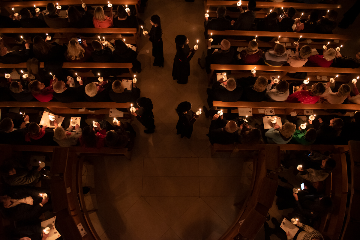 4. Overhead Candles