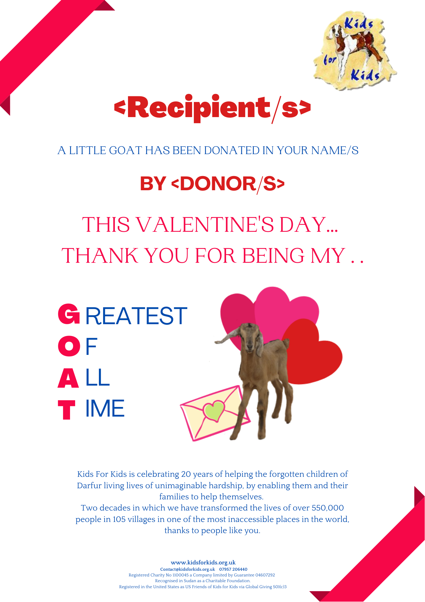 Valentines Day Certificate
