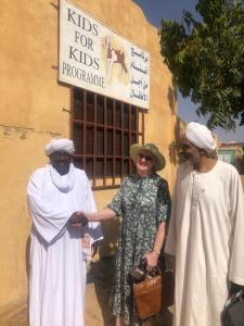 Arriving at the Kids for Kids : rural devt network office in El Fashir