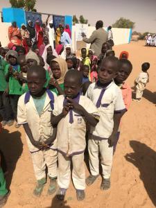 Children in Kids for Kids Uniform!
