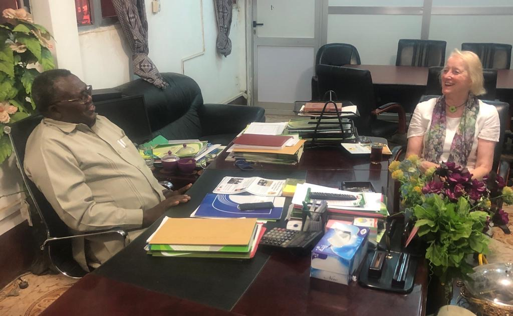 Meeting with Head of the North Darfur State Government