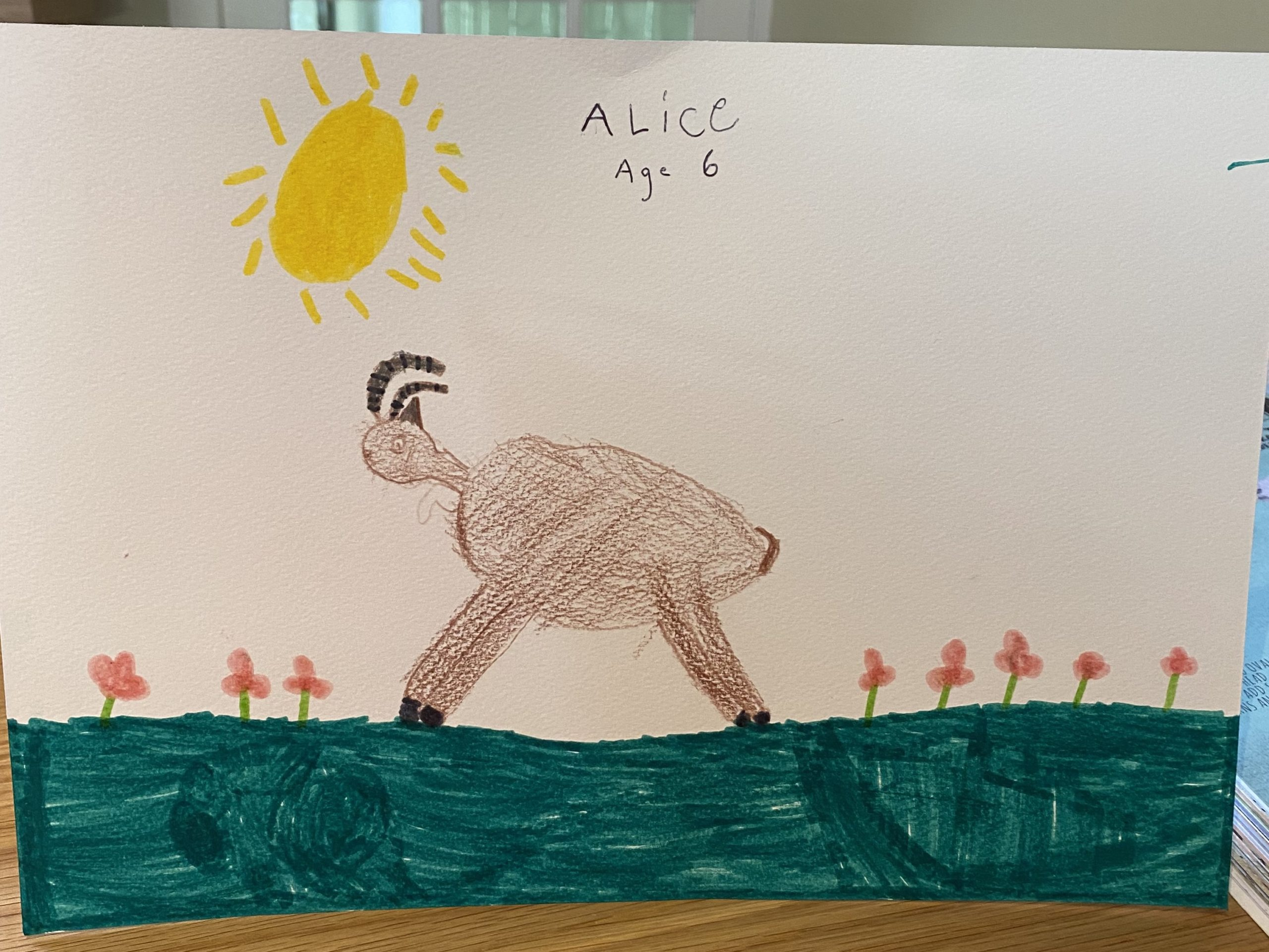 Alice Armstrong, Age 6