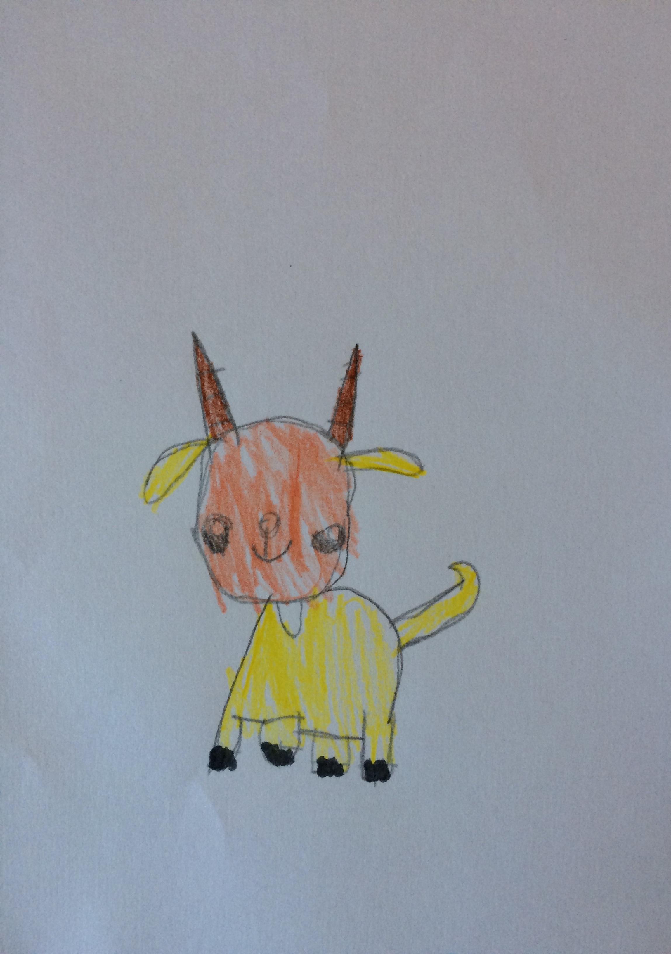 Ava Giannini-Anderson, Age 7