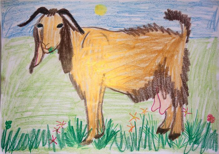 Eleni Stergiou, Age 7