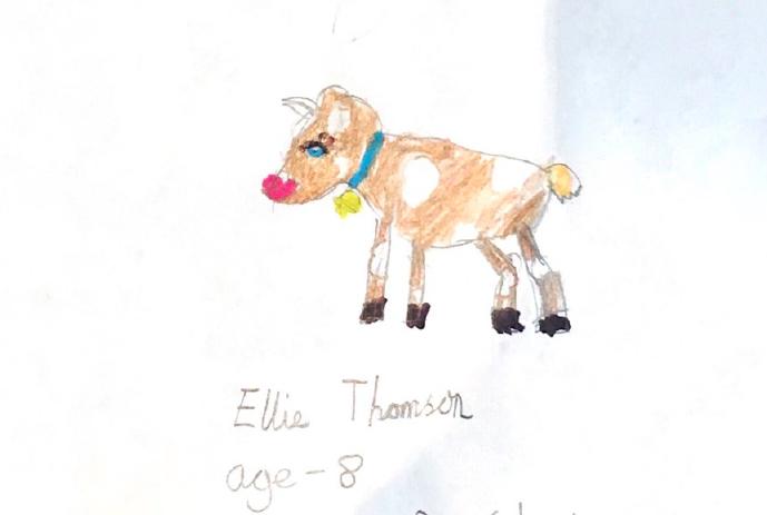 Ellie Thomson, Age 8