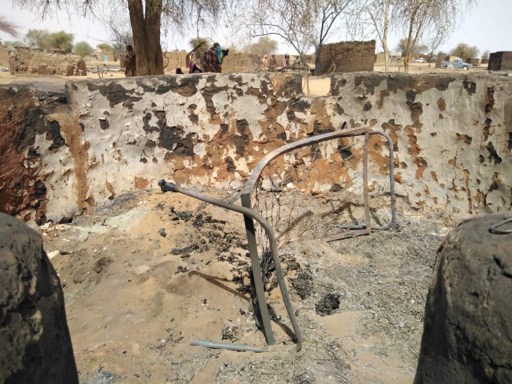 Fire in Um Hagalig 1