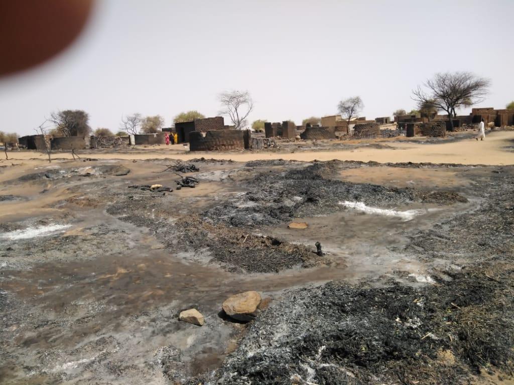 Fire in Um Hagalig