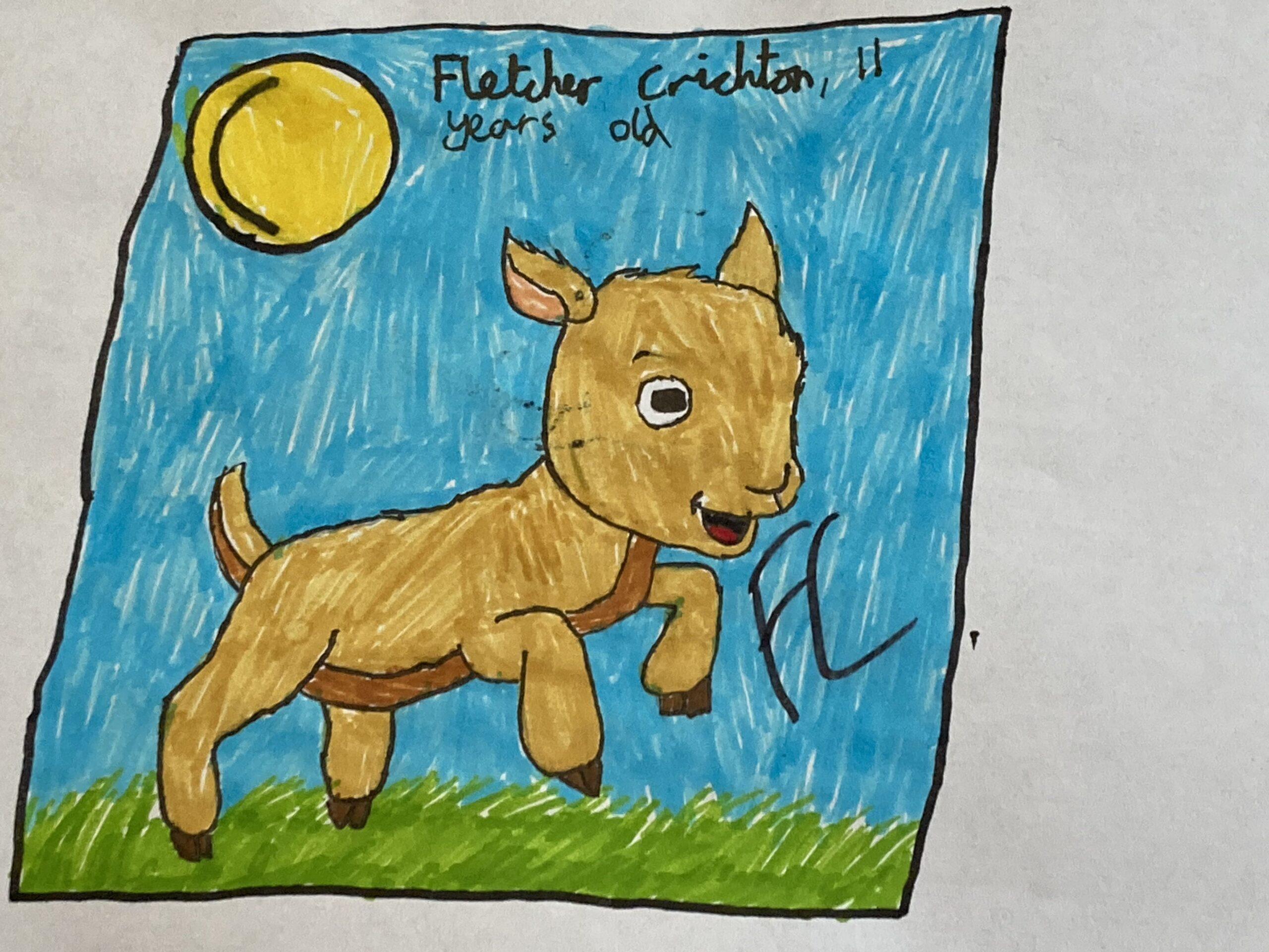 Fletcher Crichton, Age 11