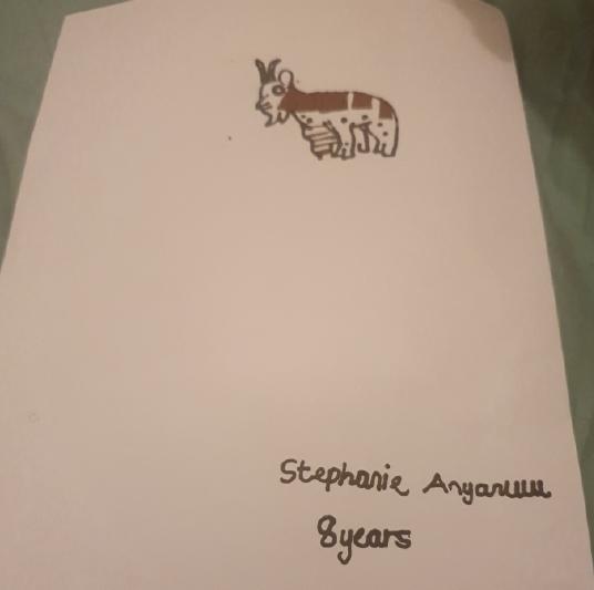 Stephanie Anyaruu, Age 8