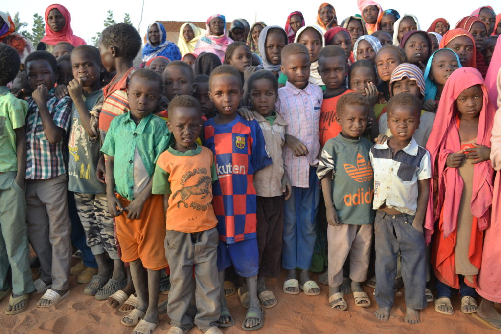 Picture of children in Darfur - Kids for Kids