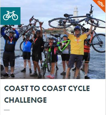 Charity Challenge – Coast to Coat Cycle