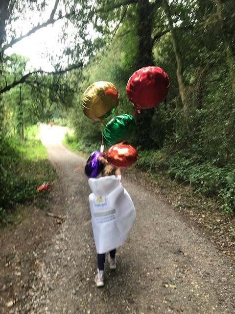 Walking balloons